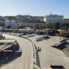 Скейтпарк в Артбухте Севастополя от FK-ramps