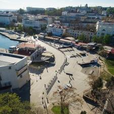 Фото: скейт парк в Севастополе