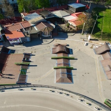 Фото: скейтпарк в Артбухте Севастополя