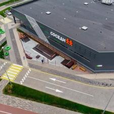 Скейт парк в Минске: вид сверху