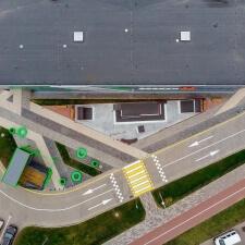 Скейт парк в Минске: общий план