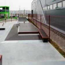 Фото: скейт парк в Минске
