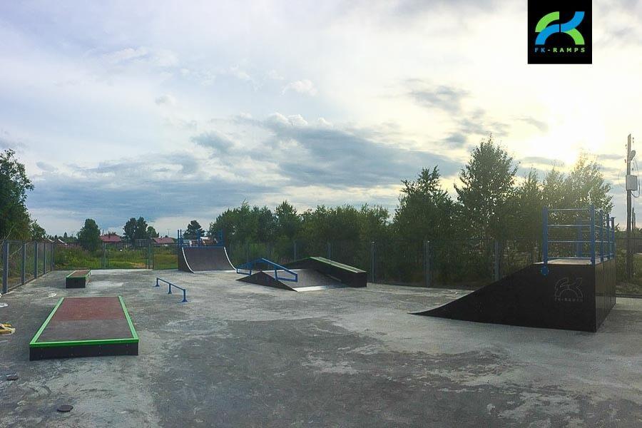 Скейт парк в Молодежном, Сахалинская область