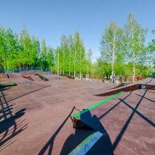Обустройство скейт парка в Кронштадте
