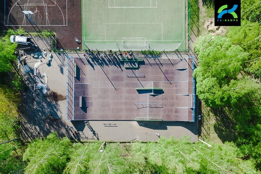 Скейт парк в Кронштадте