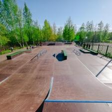 Скейт парк во Всеволожском районе