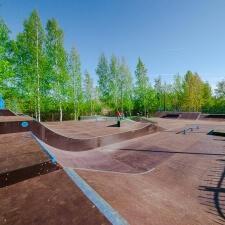 Скейтпарк в Кронштадте