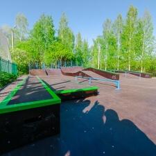 Монолитный скейт парк в Кронштадте