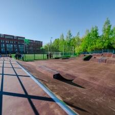 Базовый скейт парк в Кронштадте