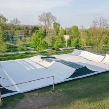 Скейт парк в Ростове-на-Дону на сваях