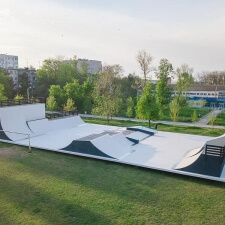Ростовский скейт парк: площадка