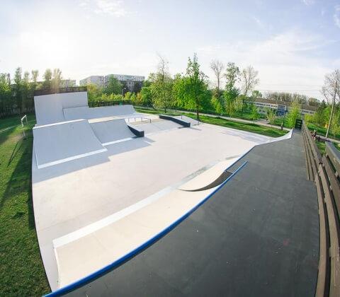 Деревянный скейт парк Ростов-на-Дону