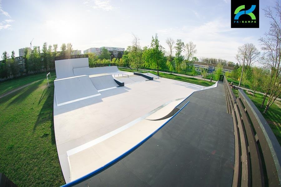 Скейт парк в Ростове-на-Дону