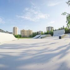 Скейт парк возле ДГТУ
