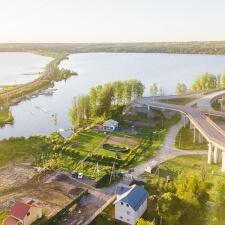 Памп трек и мини рампа в Токсово: проект