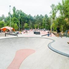 Скейт парк в Кишиневе: фото