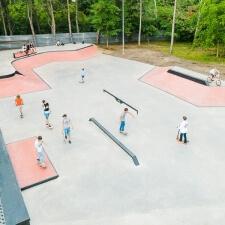 Скейт парк в Кишиневе: проект