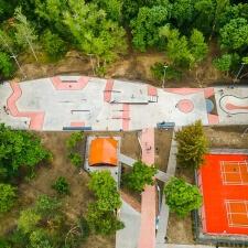Открытие скейт парка в Кишиневе