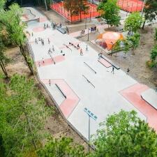 Открытие нового скейт парка в Кишиневе