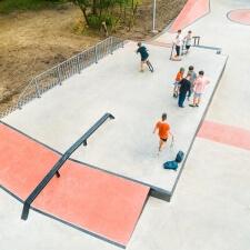 Скейт парк в Кишиневе: фотографии