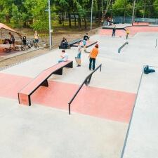 Скейтпарк в Кишиневе