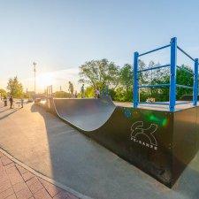Скейт парк в Тихвине