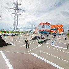 Скейт парк Парнас Сити: фото