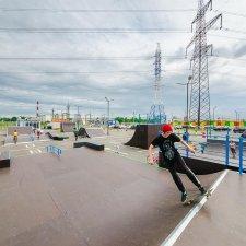 Скейтпарк Парнас Сити