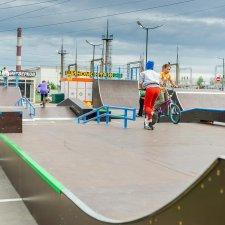 Скейт парк на севере Санкт-Петербурга