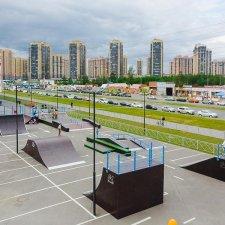Скейт парк в СПб: фото
