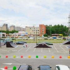 Скейт парк ТК Парнас Сити