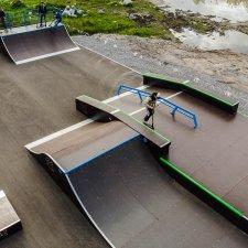 Скейтпарк в Мончегорске: фото