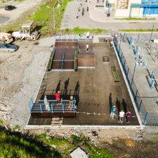 Скейт парк в Мурманской области