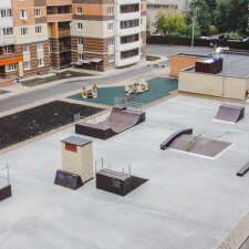 Скейт парк в Воронеже
