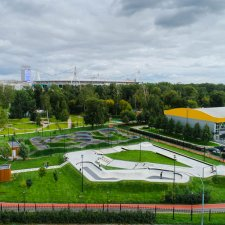 Памп трек в Черкизовском парке: фото