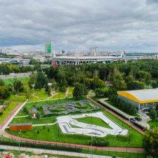 Памп трек в Черкизовском парке