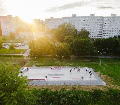 Скейт парк в Коломне: проект