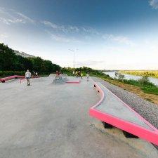 Скейт парк в Коломне: фото