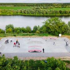 Новый скейт парк в Коломне: адрес