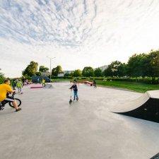 Новый скейт парк в Коломне