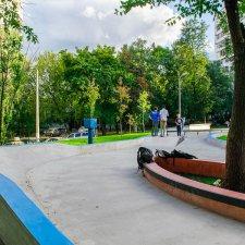 Бетонный скейт парк в Котловке