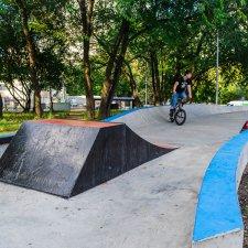Скейт парк на Ремизова