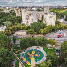 Бетонный скейт парк в Москве