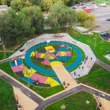 Скейт парк в Котловке: фото сверху