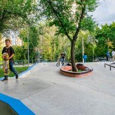 Новый скейт парк в Москве