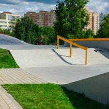 Скейт парк в Зеленограде