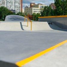 Рейлы скейт парка