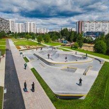 Скейт парк в Крюково