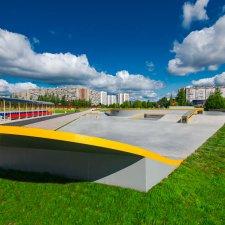 Скейт парк в Зеленограде: фото