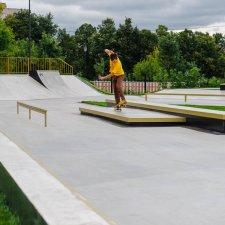 Бетонный скейт парк в Черкизово